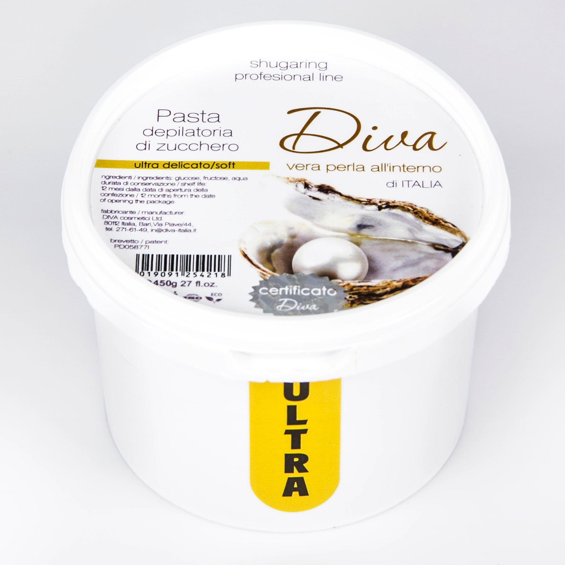 Фото Ультра мягкая сахарная паста для шугаринга 400 гр DIVA ™