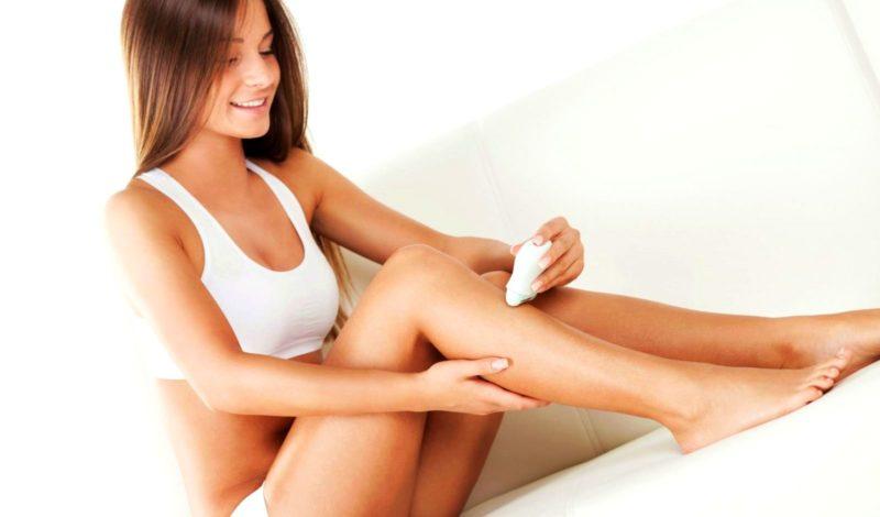 Фото удаление волос шугарингом или эпилятором